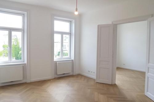 Generalsaniert - Großzügige 3-Zimmer Altbauwohnung in Hofruhelage - Nahe Naschmarkt