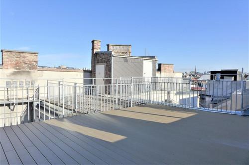 Exklusive 4-Zimmer Dachgeschosswohnung mit 2 Terrassen - Nahe Schlossquadrat