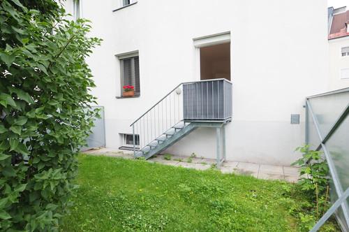 Gartenwohnung für Individualisten und Stadtliebhaber.