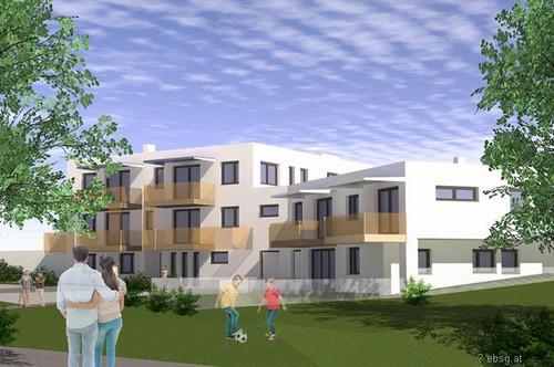 Wohnung im Bau in Berg