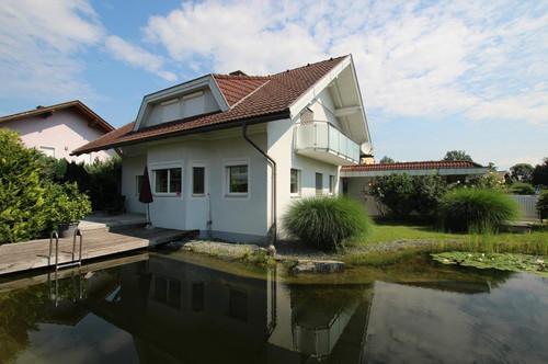Familien-Wohntraum mit Schwimmteich in Top-Lage von Klagenfurt am Wörthersee