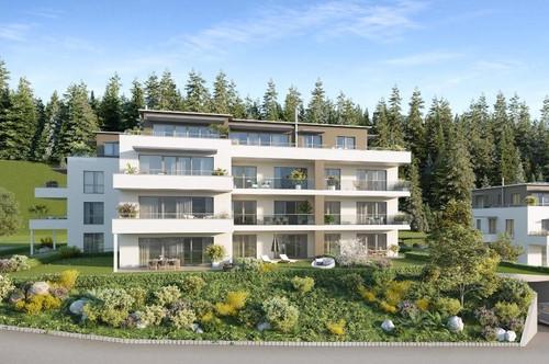 2 Zimmer-Gartenwohnung in Reifnitz mit Blick auf den Wörthersee! Erstbezug