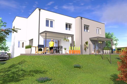 Modernes Doppelhaus in ruhiger Lage in Friedberg