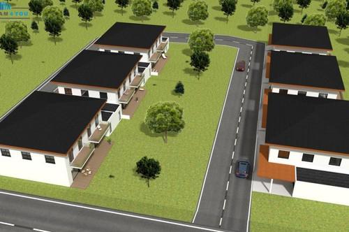 Zu kleine Wohnung? Neue Doppelhaushälften in Ottnang! Baubeginn Mitte 2020 B 5