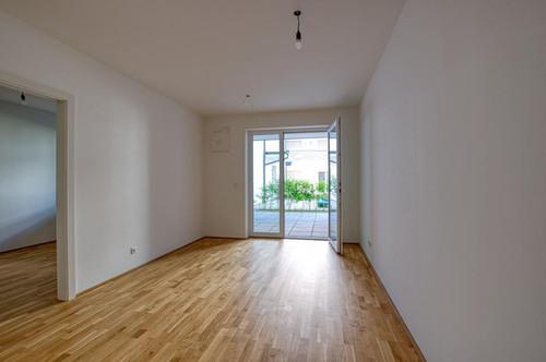 Erstbezug! Ruhige 2-Zimmerwohnung mit Terrasse