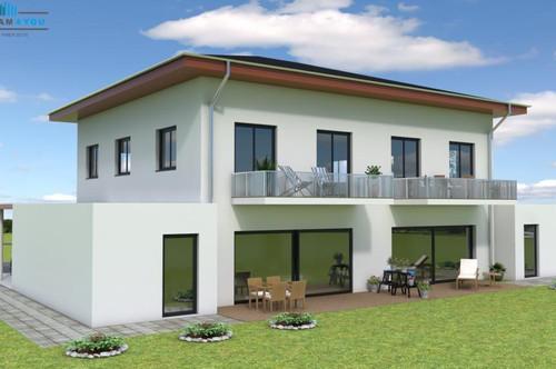 Zu kleine Wohnung? Neue Doppelhaushälften in Ottnang! Baubeginn Mitte 2020 B 4