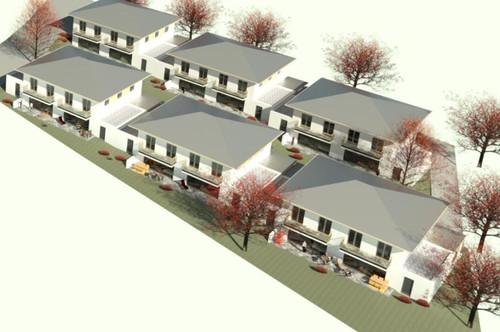 Zu kleine Wohnung? Neue Doppelhaushälften in Ottnang! Baubeginn Mitte 2020 B 2