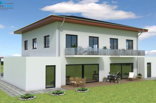 Achtung Familien: Neue Doppelhaushälften in Ottnang am Hausruck! Baubeginn Mitte 2020 A 2