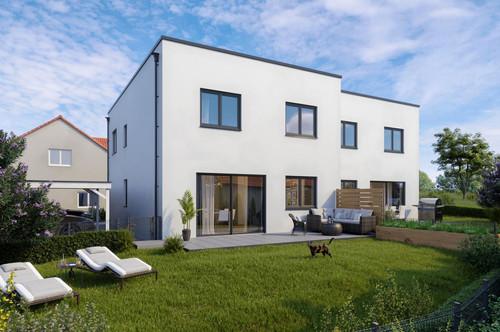 *Frühjahrs-Aktion* Neubau-Doppelhaushälfte CUBUS in Hörsching