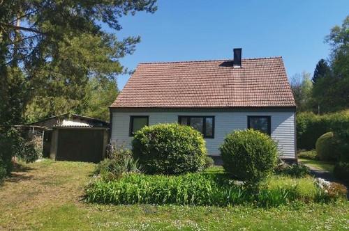 Einfamilienhaus in der Natur am Ortsrand