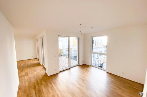 PROVISIONSFREI! VON PRIVAT! Erstbezug 2 Zimmer Wohnung mit direktem Zugang zu Pool, direkt an der Donauinsel