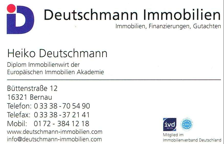 Deutschmann Immobilien & Finanzierungen