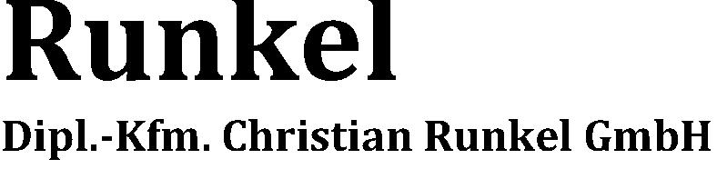 Dipl.-Kfm. Christian Runkel GmbH
