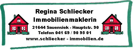 Immobilienbüro Regina Schliecker
